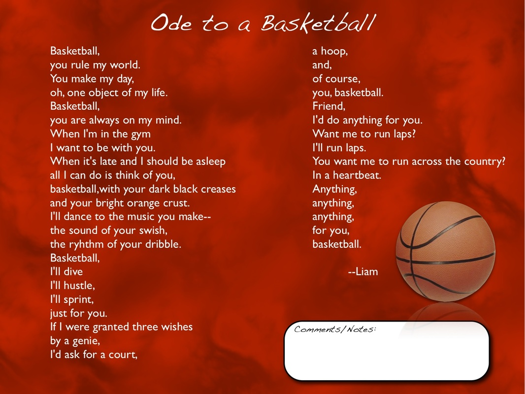 ode poem examples - photo #8