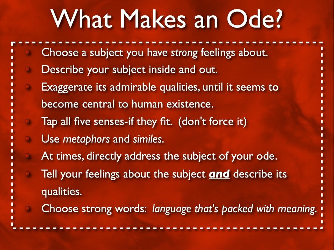 ode poem examples - photo #9